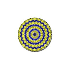 Mandala Golf Ball Marker 10 Pack by Siebenhuehner