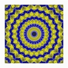Mandala Glasses Cloth (medium, Two Sided) by Siebenhuehner