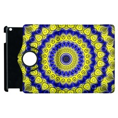 Mandala Apple Ipad 3/4 Flip 360 Case by Siebenhuehner