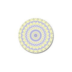 Mandala Golf Ball Marker by Siebenhuehner