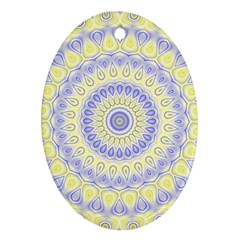 Mandala Oval Ornament (two Sides) by Siebenhuehner