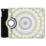 Mandala Apple iPad Mini Flip 360 Case Front
