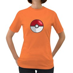 Pokeball Womens' T-shirt (colored)