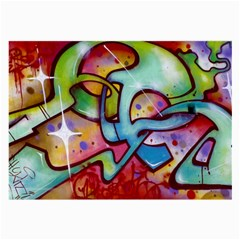 Graffity Glasses Cloth (large) by Siebenhuehner