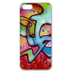 Graffity Apple Seamless Iphone 5 Case (clear) by Siebenhuehner