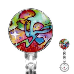 Graffity Stainless Steel Nurses Watch by Siebenhuehner