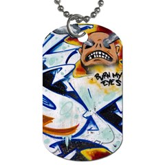Graffity Dog Tag (two Sided)  by Siebenhuehner