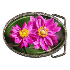 Flower Belt Buckle (oval) by Siebenhuehner