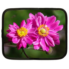 Flower Netbook Sleeve (large) by Siebenhuehner