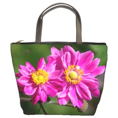 Flower Bucket Handbag by Siebenhuehner
