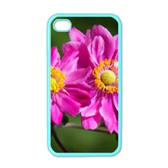 Flower Apple Iphone 4 Case (color) by Siebenhuehner