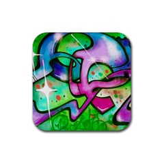 Graffity Drink Coasters 4 Pack (square) by Siebenhuehner