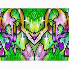 Graffity Canvas 12  X 16  (unframed) by Siebenhuehner