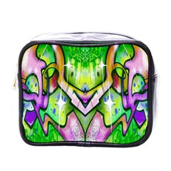 Graffity Mini Travel Toiletry Bag (one Side) by Siebenhuehner