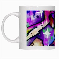 Graffity White Coffee Mug by Siebenhuehner
