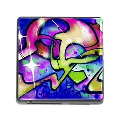 Graffity Memory Card Reader With Storage (square) by Siebenhuehner