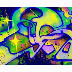 Graffity Canvas 16  X 20  (unframed) by Siebenhuehner