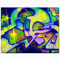 Graffity Canvas 11  X 14  (unframed) by Siebenhuehner