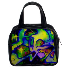 Graffity Classic Handbag (two Sides) by Siebenhuehner