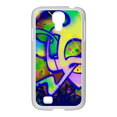 Graffity Samsung Galaxy S4 I9500/ I9505 Case (white) by Siebenhuehner