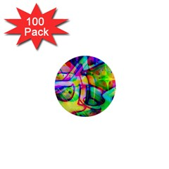 Graffity 1  Mini Button (100 Pack)