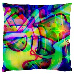 Graffity Large Cushion Case (single Sided)  by Siebenhuehner