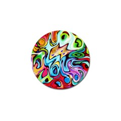 Graffity Golf Ball Marker 4 Pack by Siebenhuehner