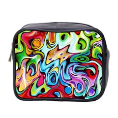Graffity Mini Travel Toiletry Bag (two Sides) by Siebenhuehner
