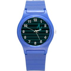 I m Alive Plastic Sport Watch (small) by PaolAllen2