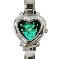 Framk Heart Italian Charm Watch  by Contest1741083