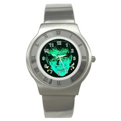 Framk Stainless Steel Watch (slim) by Contest1741083