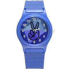 Peace Plastic Sport Watch (small)