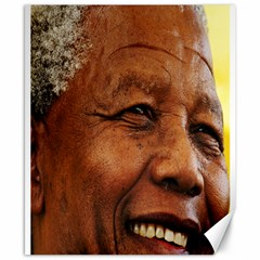 Mandela Canvas 8  X 10  (unframed) by MORE4MANDELA