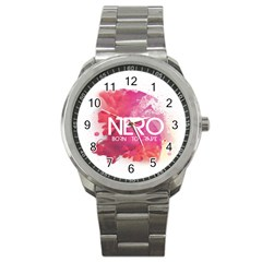 Nero ! Watch Sport Metal Watch