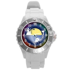 Fishing Dead Plastic Sport Watch (large) by Contest1763580