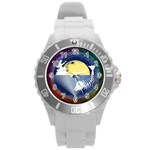 Fishing Dead Plastic Sport Watch (Large) Front