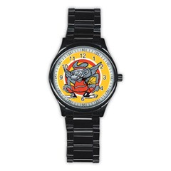 Flying Monkey Sport Metal Watch (black)