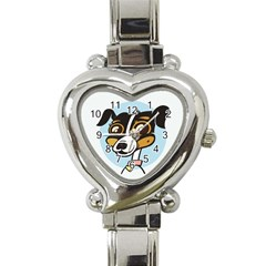 Danny Dog Heart Italian Charm Watch  by Contest1738792