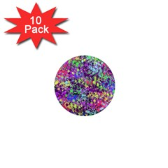 Fantasy 1  Mini Button Magnet (10 Pack) by Siebenhuehner
