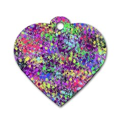 Fantasy Dog Tag Heart (one Sided)  by Siebenhuehner