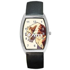 Bear Time Tonneau Leather Watch by Contest1780262