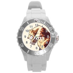 Bear Time Plastic Sport Watch (large) by Contest1780262
