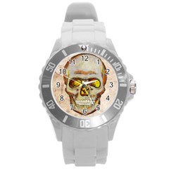 Warm Skull Plastic Sport Watch (large) by Contest1775858
