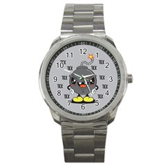 Time Bomb Sport Metal Watch by Contest1771648