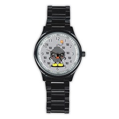 Time Bomb Sport Metal Watch (black) by Contest1771648