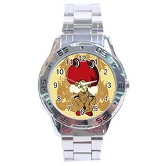 Flan Stainless Steel Watch by DesignsbyReg2