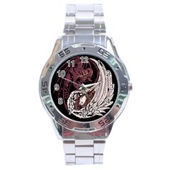 Yinyang Stainless Steel Watch by DesignsbyReg2