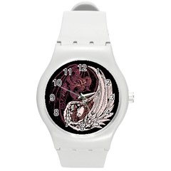 Yinyang Plastic Sport Watch (medium) by DesignsbyReg2