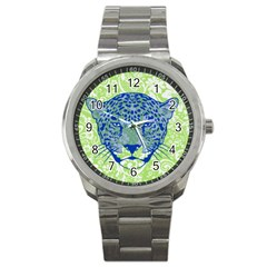 Cheetah Alarm Sport Metal Watch