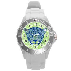 Cheetah Alarm Plastic Sport Watch (large) by Contest1738807